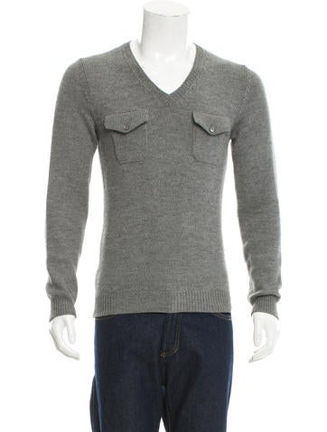 Dsquared² Wool V-Neck Sweater None