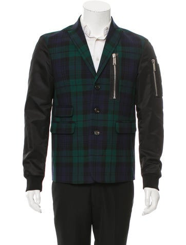 Dsquared² Scottish Check Bomber Jacket w/ Tags None