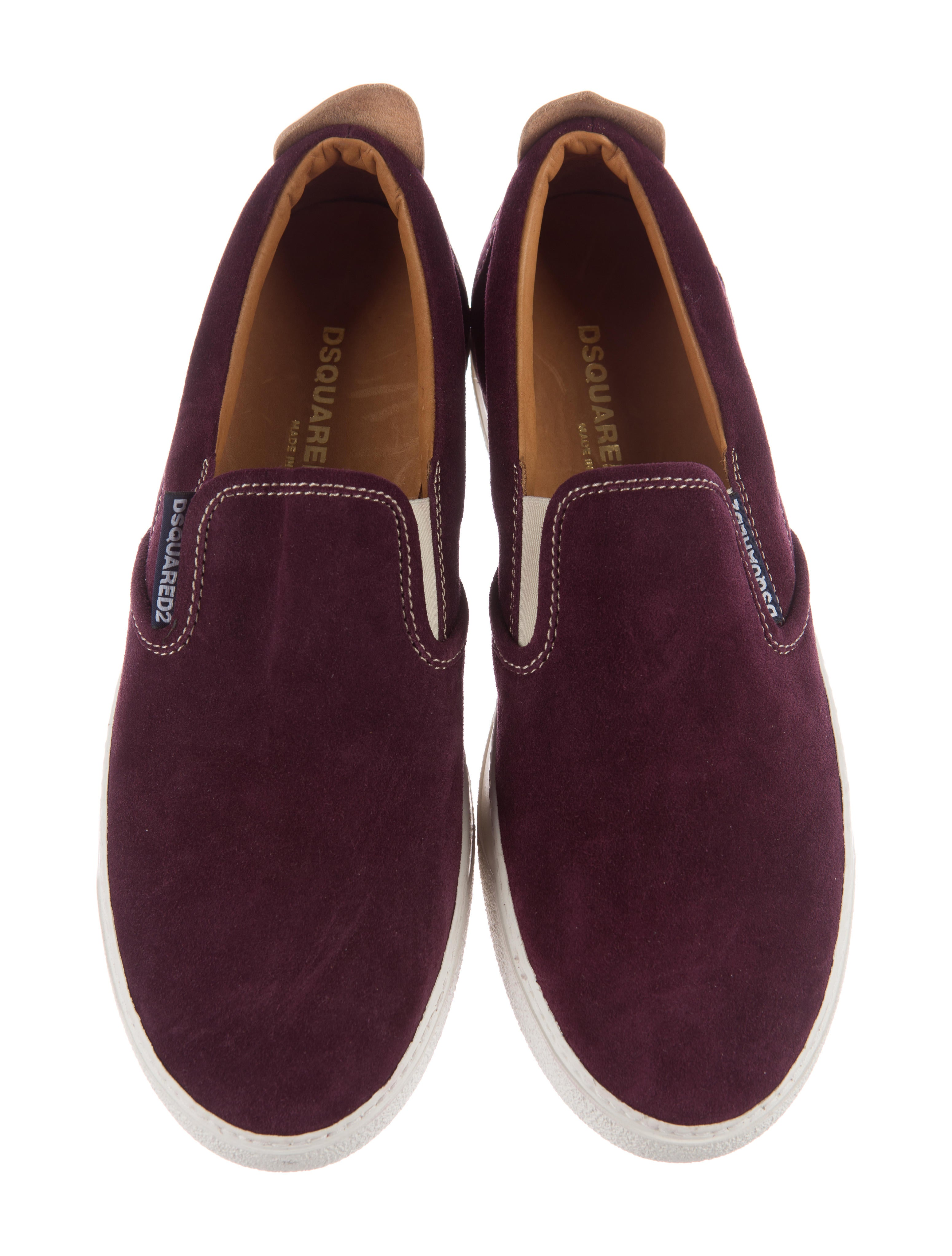 dsquared 178 suede slip on sneakers shoes dsq25671 the