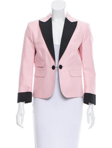 Dsquared² Long Sleeve Peak-Lapel Blazer w/ Tags None