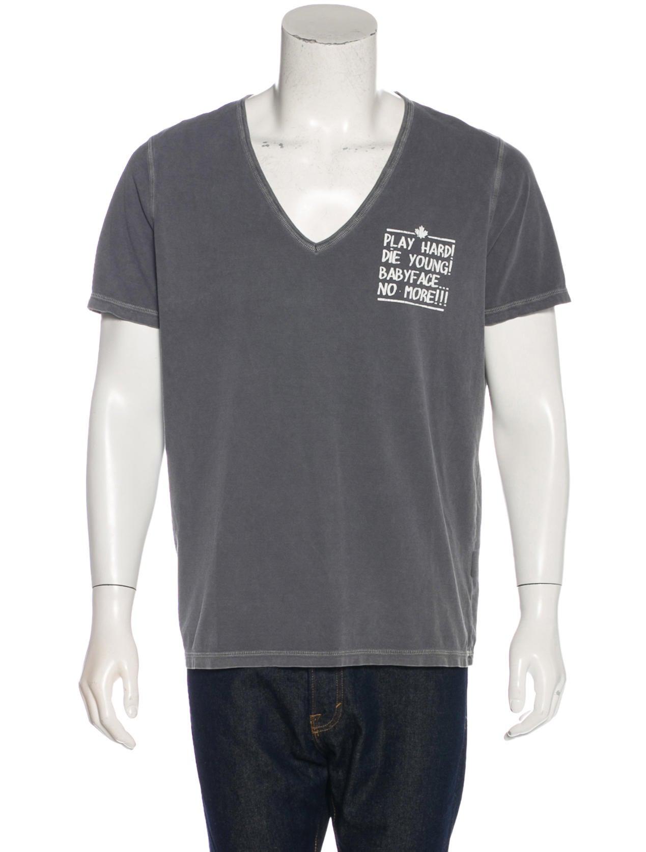 Dsquared graphic print t shirt clothing dsq25958 for T shirt graphic printing
