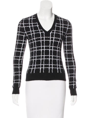 Dsquared² Angora Patterned Sweater None