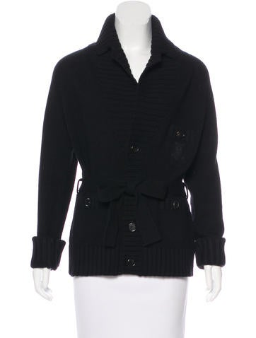 Dsquared² Wool Knit Cardigan None