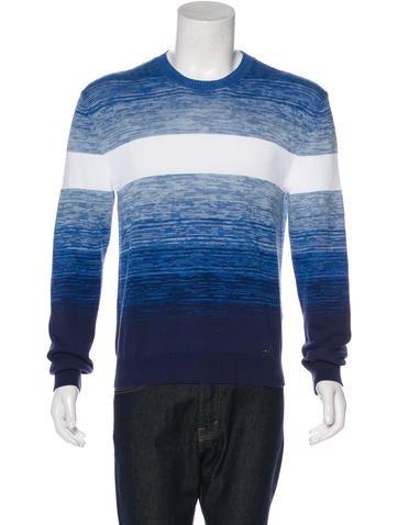 Dsquared² Ombré Crew Neck Sweater None