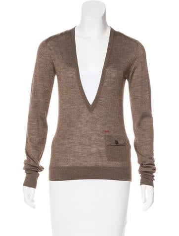 Dsquared² Wool & Silk-Blend Sweater None