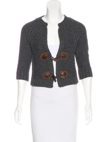Dsquared² Wool-Blend Toggle Cardigan None