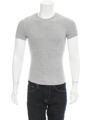 Dsquared² Rib Knit Crew Neck T-Shirt None