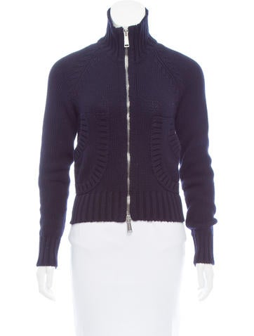 Dsquared² Long Sleeve Zip-Up Cardigan None