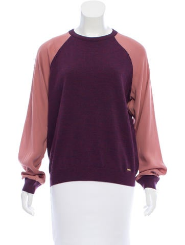 Dsquared² Colorblock Wool Top w/ Tags None