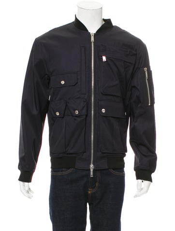 Dsquared² Zip-Front Bomber Jacket w/ Tags None