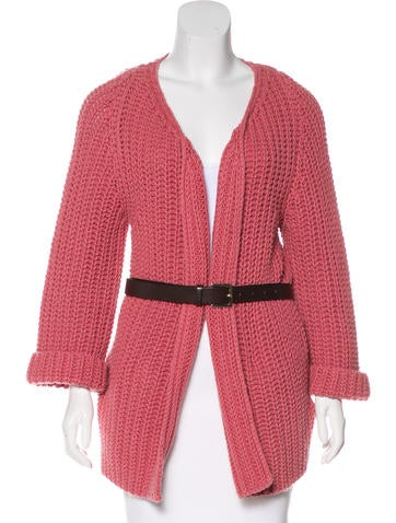 Dsquared² Virgin Wool Knit Cardigan None