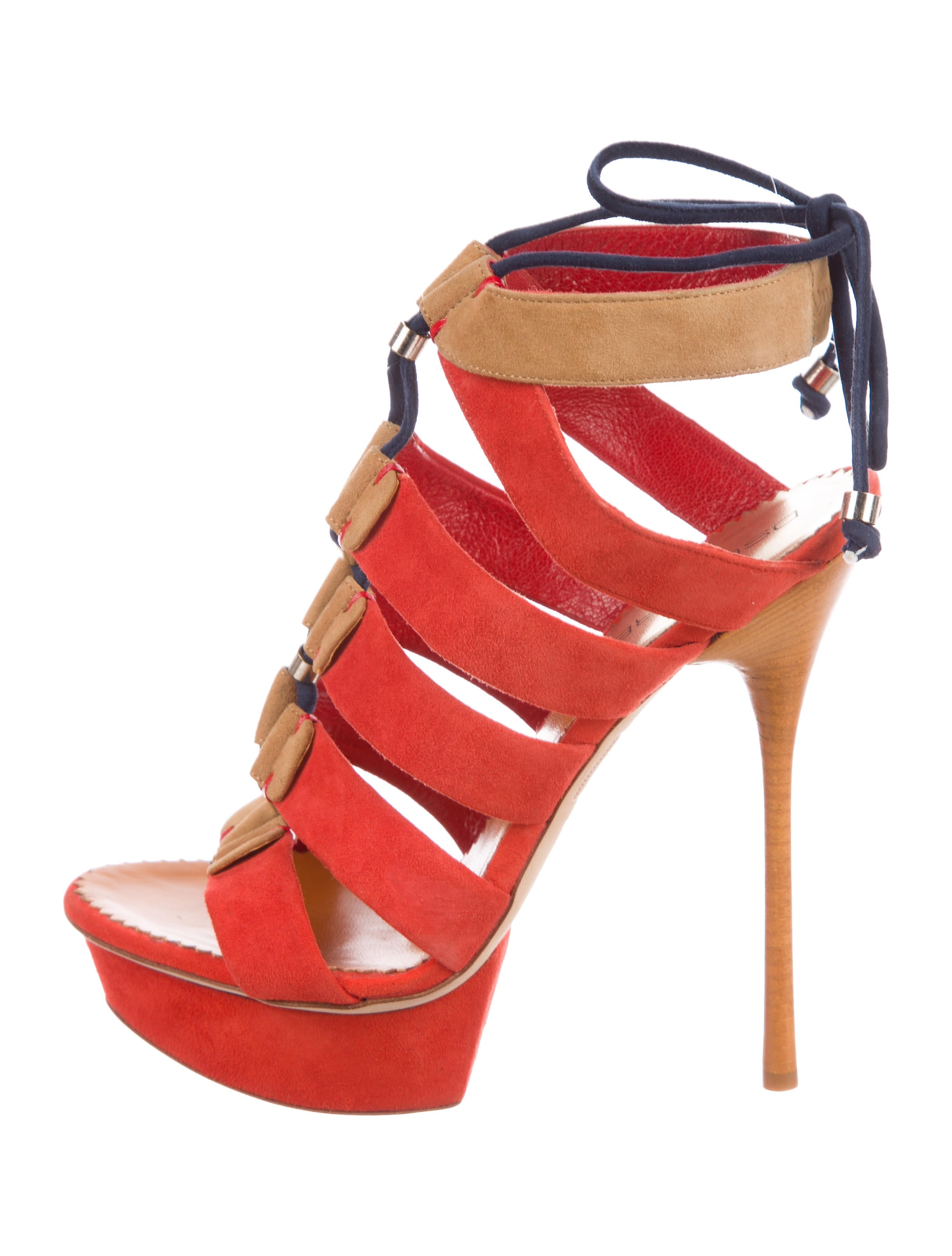 Dsquared² Suede Platform Sandals sale best sale GXiIfI