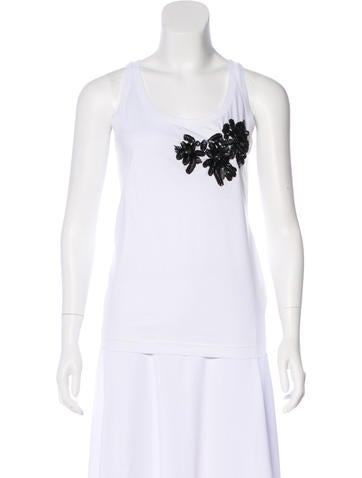 Dsquared² Embellished Sleeveless Top w/ Tags None