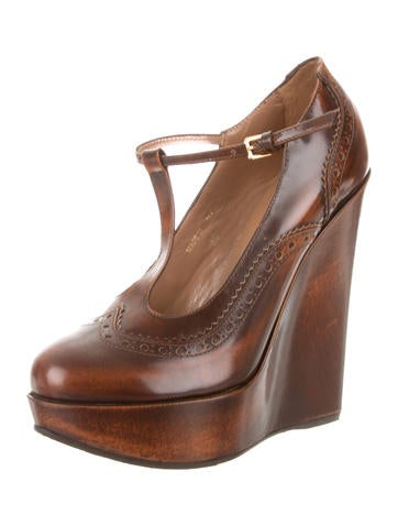 Dsquared² Round-Toe Platform Wedges buy cheap popular cheap sale amazon sale affordable 6PvKf