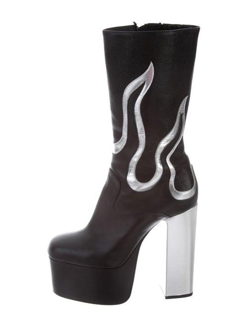 Dsquared² Flame Platform Boots Black
