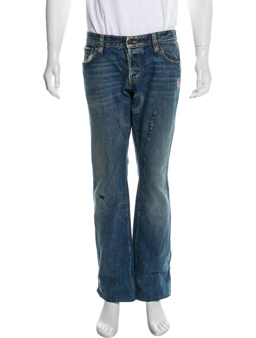 Dsquared² Distressed Jeans blue
