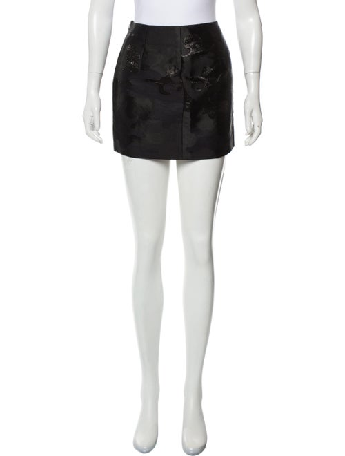 Dsquared² Metallic Mini Skirt Metallic