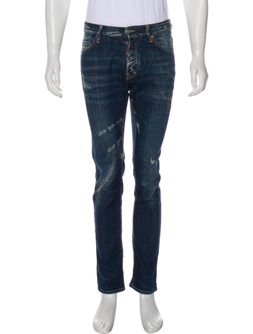 Dsquared² Dean Distressed Jeans blue