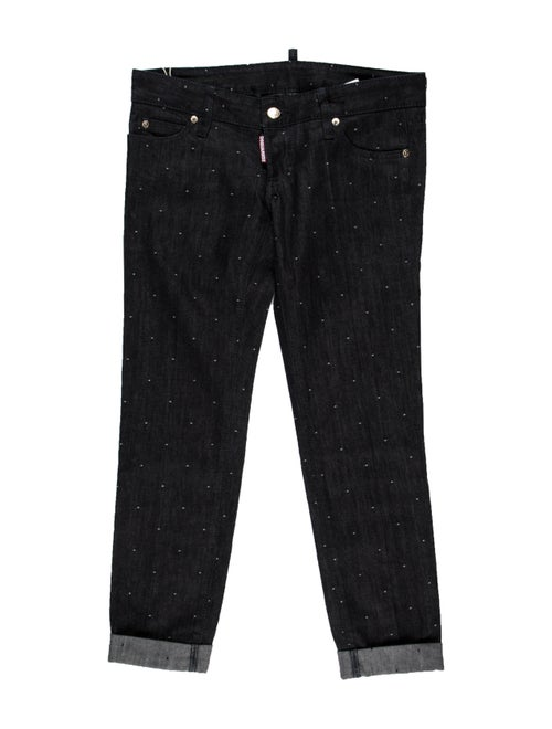 Dsquared² Low-Rise Straight Leg Jeans w/ Tags Blue