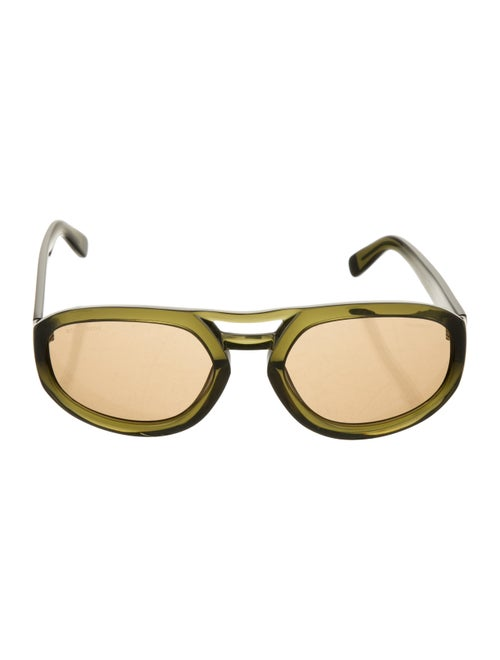 Dsquared² Aviator Tinted Sunglasses Green