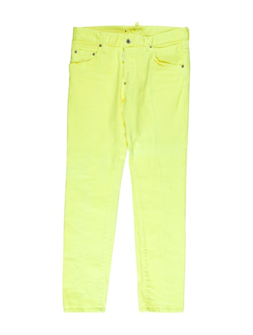 Dsquared² Skinny Woven Jeans yellow