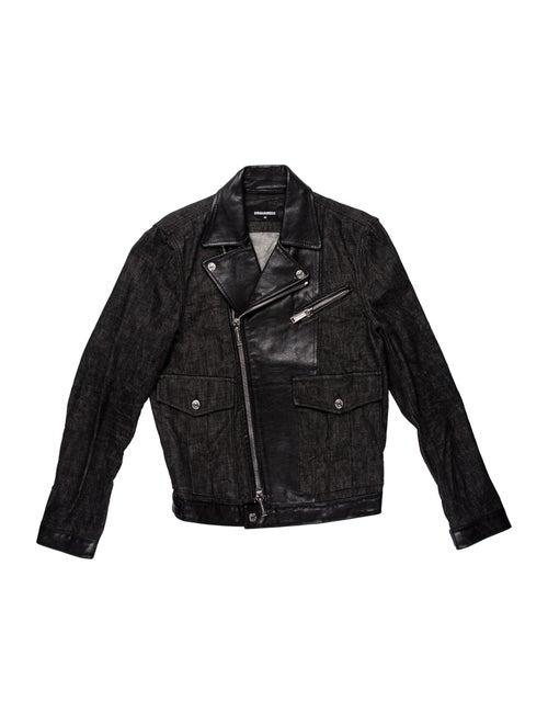Dsquared² Moto Jacket Black