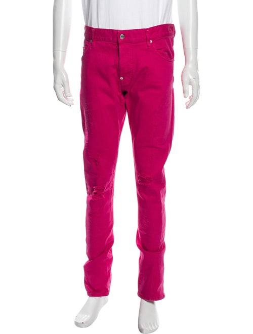 Dsquared² Skinny Jeans Pink