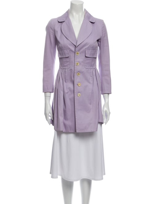 Dsquared² Trench Coat Purple