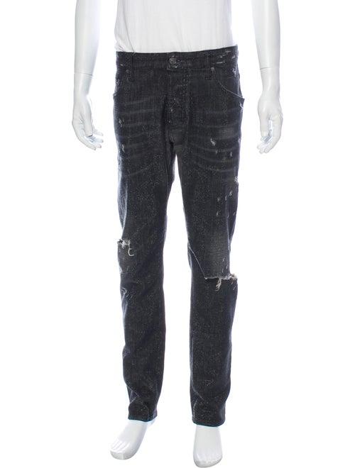 Dsquared² Skinny Jeans Black