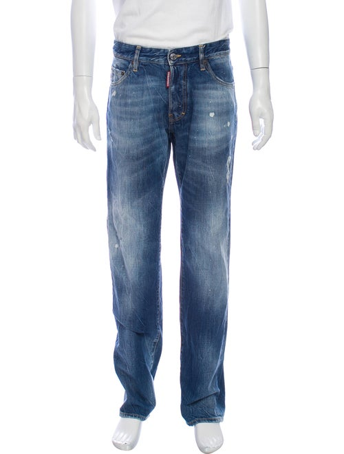 Dsquared² Skinny Jeans Blue