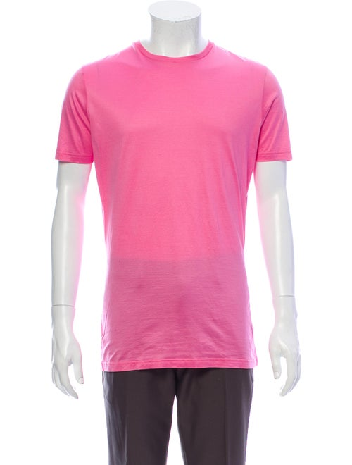 Dsquared² Crew Neck Short Sleeve T-Shirt Pink