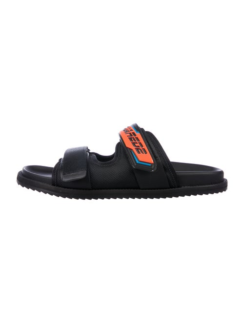 Dsquared² Graphic Print Slides Black