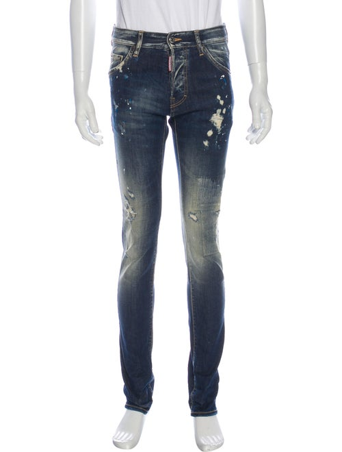 Dsquared² 2015 Skinny Jeans Blue