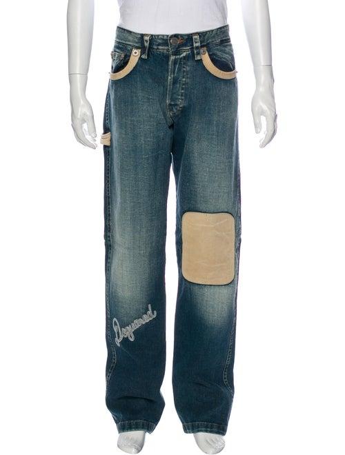 Dsquared² Straight-Leg Jeans Blue