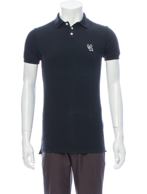 Dsquared² Crew Neck Short Sleeve Polo Shirt Grey