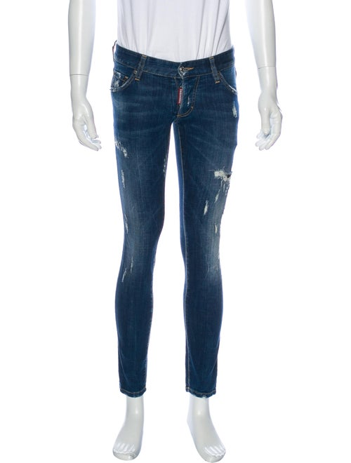Dsquared² Packo Skinny Jeans Blue