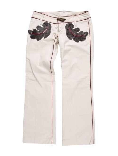 Dsquared² Printed Wide Leg Pants