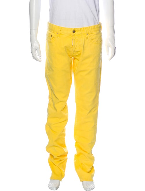 Dsquared² Skinny Jeans Yellow
