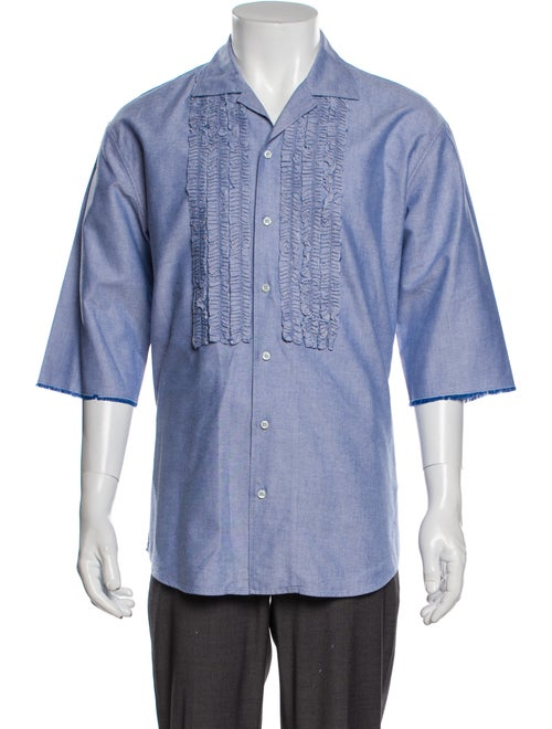Dsquared² Short Sleeve Shirt Blue