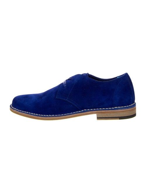 Dsquared² Suede Derby Shoes Blue