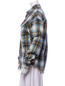 Dsquared² Plaid Print Jacket w/ Tags