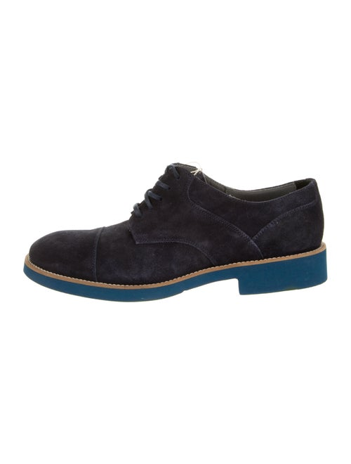 Doucal's Suede Derby Shoes w/ Tags blue