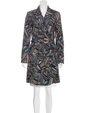 Duro Olowu Printed Double-Breasted Coat