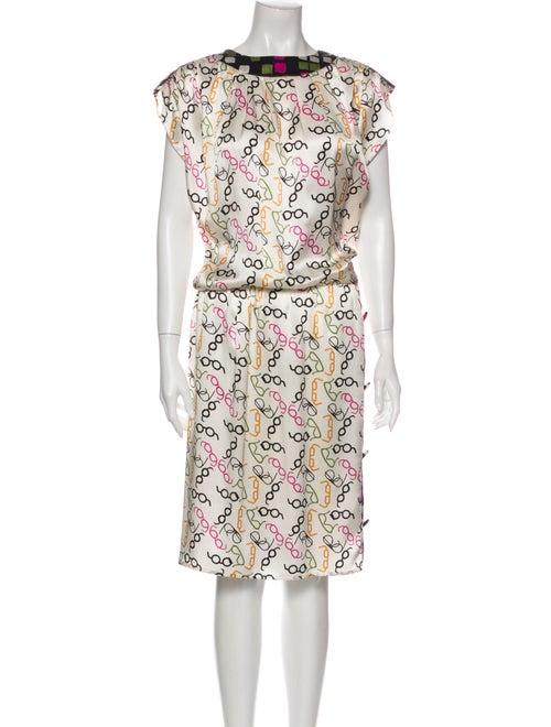 Duro Olowu Silk Midi Length Dress