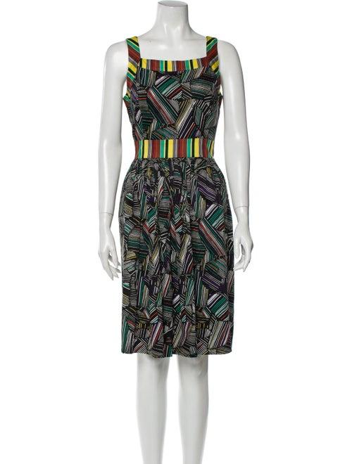 Duro Olowu Printed Knee-Length Dress