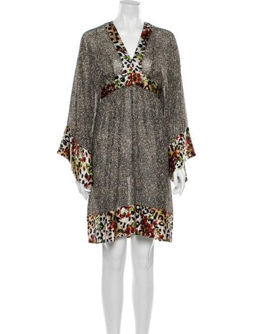 Duro Olowu Animal Print Long Dress