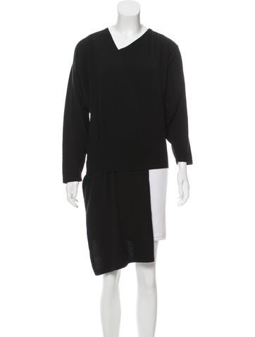 Dusan Cashmere High-Low Sweater None