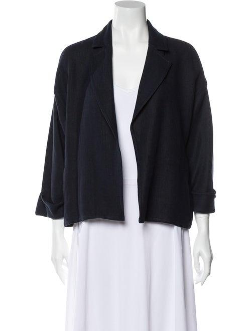 Dusan Linen Jacket Blue