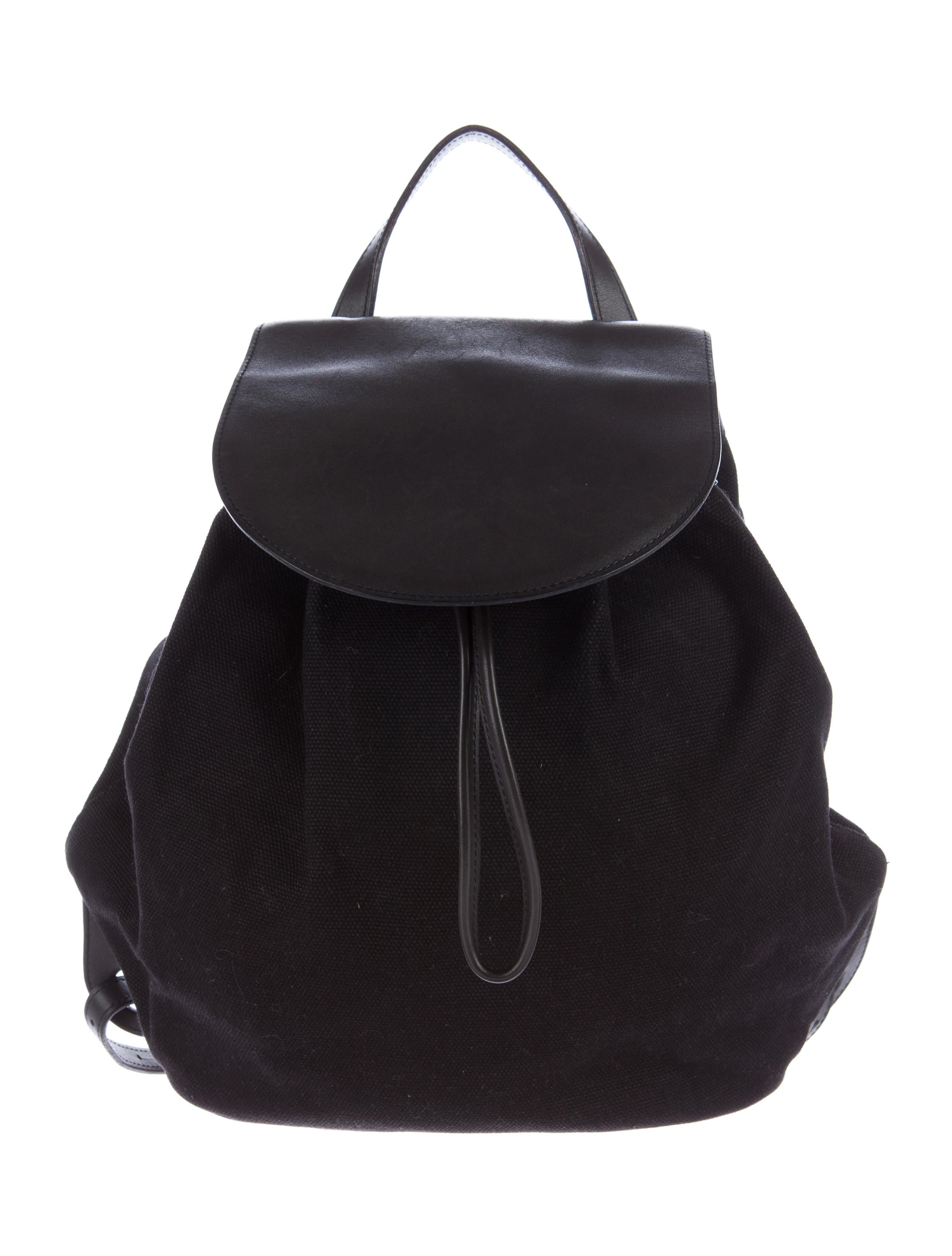 Leather Canvas Backpack Purse- Fenix Toulouse Handball b348eb0021f48