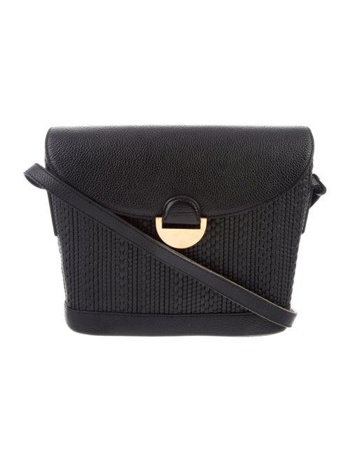 Delvaux Vintage Flap Bag Black